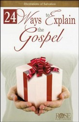 24 Ways to Explain the Gospel Pamphlet - 5 Pack