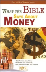 What the Bible Says About Money Pamphlet - 5 Pack