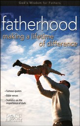 Fatherhood: Making a Lifetime of Difference, Pamphlet -  5 Pack