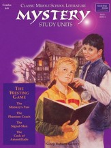 Classic Middle School Literature: Mystery Study Units, Grades 6-8