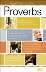 Proverbs: Biblical Wisdom for Today, Pamphlet