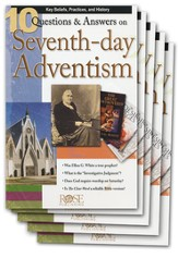 10 Questions & Answers on Seventh-day Adventism Pamphlet - 5 Pack
