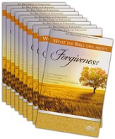 What the Bible Says about Forgiveness Pamphlet, 10-pack