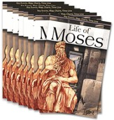 The Life of Moses Pamphlet, 10-pack