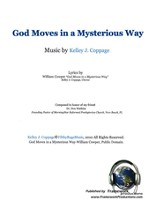 God Moves in a Mysterious Way - sheet music