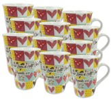 A Friend Loves At All Times, Case of 12 Gift Boxed Mugs