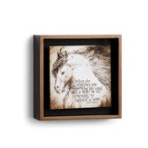 Horse Hoofs On the Wind Shadow Box