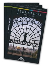 Jerusalem Time Line, Pamphlet - 5 pack