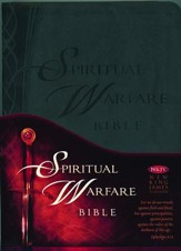 NKJV Spiritual Warfare Bible, Imitation Leather
