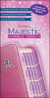Majestic Bible Tabs- Princess