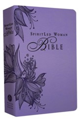 MEV SpiritLed Woman Bible, Imitation Leather, Purple