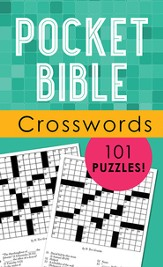 Pocket Bible Crosswords: 101 Puzzles!