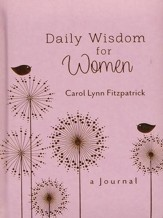 Daily Wisdom for Women: A Journal - imitation leather