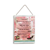 Mother Message Wall Plaque