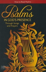 Psalms: In God's Presence Through Songs and Prayers, Pamphlet