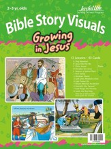 Growing in Jesus (ages 2 & 3) Bible Visuals