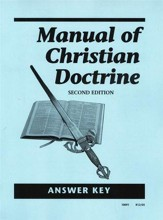 Manual of Christian Doctrine Answer Key