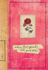 When God Speaks, Take Good Notes Journal