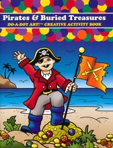 Pirates & Buried Treasures Coloring Book
