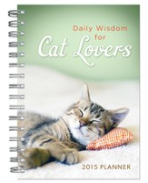 Daily Wisdom for Cat Lovers 2015 Planner