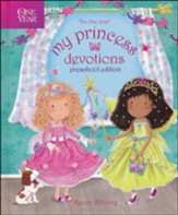 The One Year My Princess Devotions: Preschool Edition