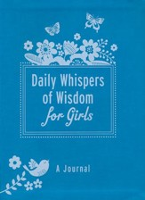Daily Whispers of Wisdom for Girls Journal - imitation  leather
