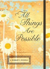 Journal All things are possible