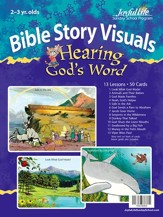 Hearing God's Word (ages 2 & 3) Bible Visuals