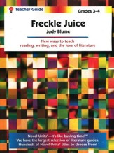 Freckle Juice, Novel Units Teacher's Guide, Grades 3-4