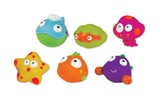 Sea Life Squeezy Squirters, Set of 6
