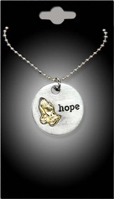 Praying Hands Hope Pendant