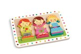 Dolls Chunky Puzzle, 9 Pieces