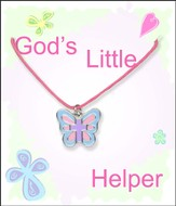 Butterfly Cross Necklace