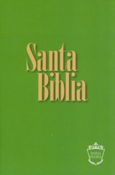 Reina Valera Compact Bible - Green - Spanish