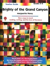 Brighty of the Grand Canyon, Novel Units Teacher's Gd, Gr. 5-6
