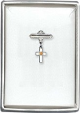 Mustard Seed Cross Pin