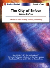 The City of Ember, Novel Units Student Packet, Grades 5-6