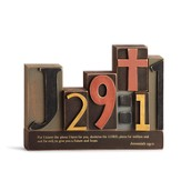 Jeremiah 29:11 Word Plaque