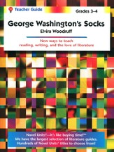 George Washington's Socks, Novel Units Teacher's Guide, Grades 3-4