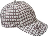 White Cap with Crosses