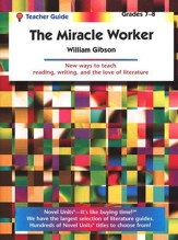 The Miracle Worker, Novel Units Teacher's Guide, Grades 7-8