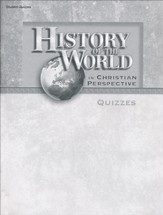 History of the World in Christian Perspective Quizzes