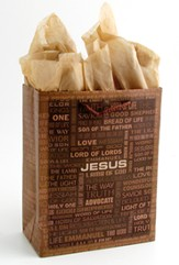 Names of Jesus Gift Bag, Small