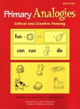 Primary Analogies, Book 1