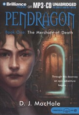 Pendragon #1:  Merchant of Death - Audiobook on MP3 CD-ROM