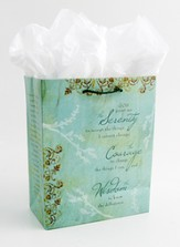 Serenity Prayer Gift Bag, Small