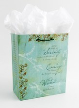 Serenity Prayer Gift Bag, Medium