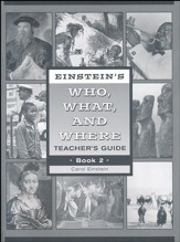 Einstein's Who, What, and Where Book 2 Teacher's Guide