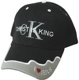 Christ Is King Cap Black