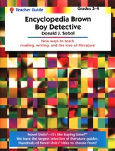 Encyclopedia Brown, Novel Units Teacher's Guide, Grades 3-4